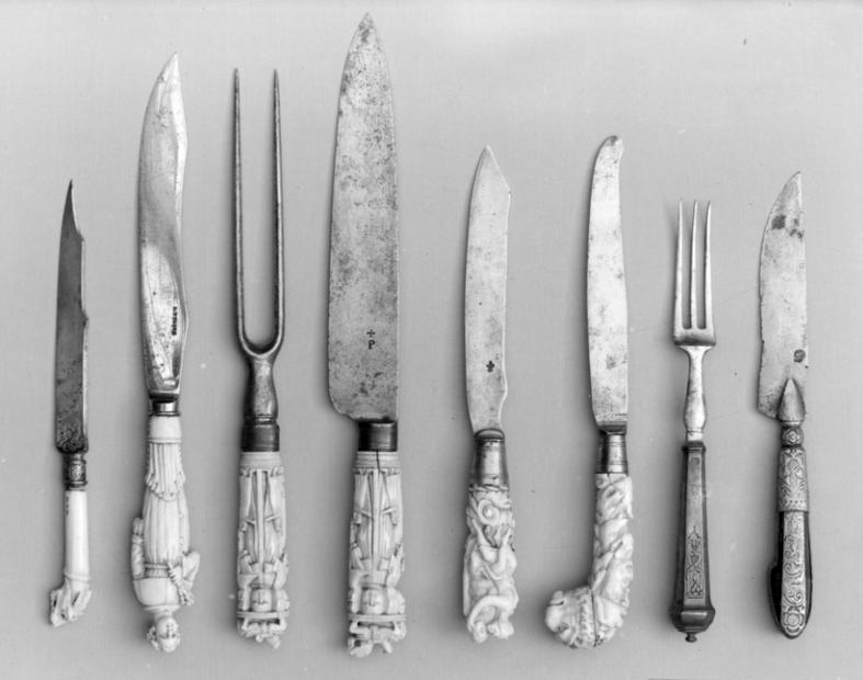 historia da gastronomia - talheres