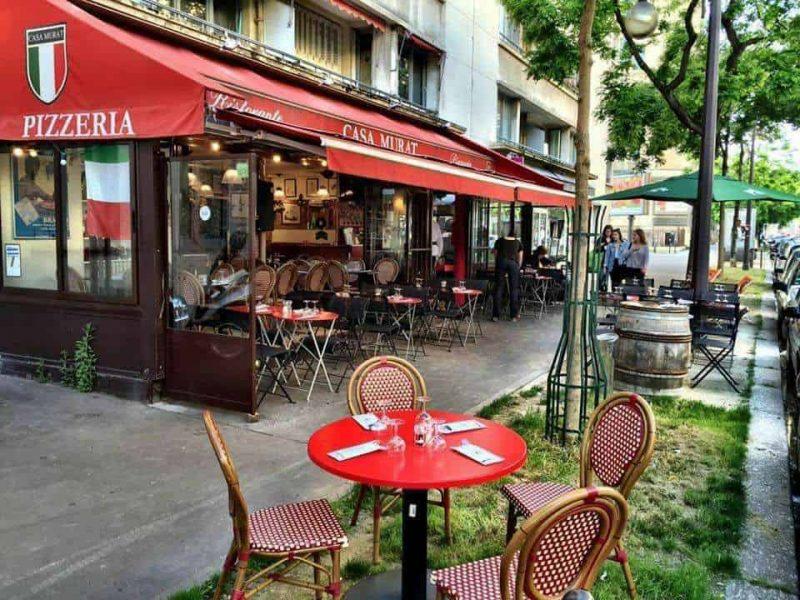 restaurante casa murat paris - ao lado estadio psg