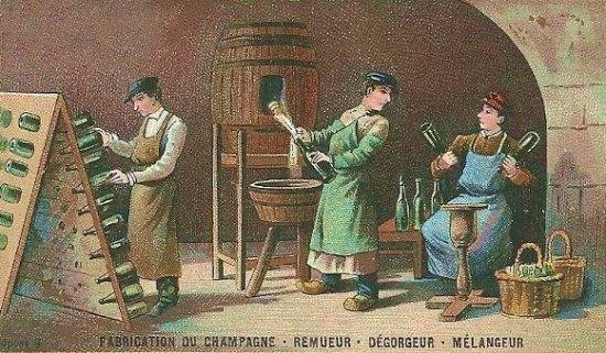 champagne making fabricação