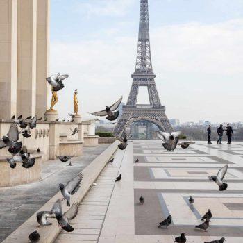 Quarentena em Paris : as impressionantes imagens de Paris deserta vista do céu